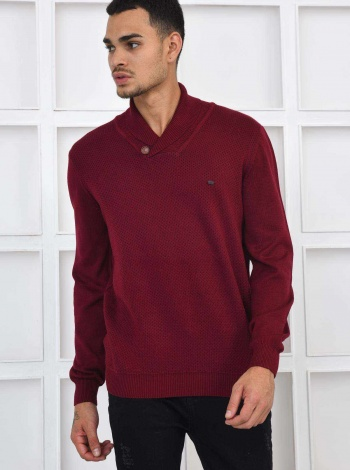 W.COLLECTION ERKEK KAZAK BORDO