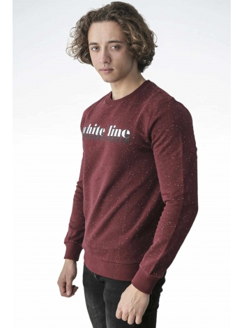 White Line Bordo Sweatshirt